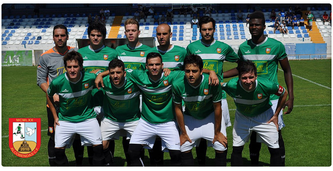 One of the teams at Alcobendas Football Club