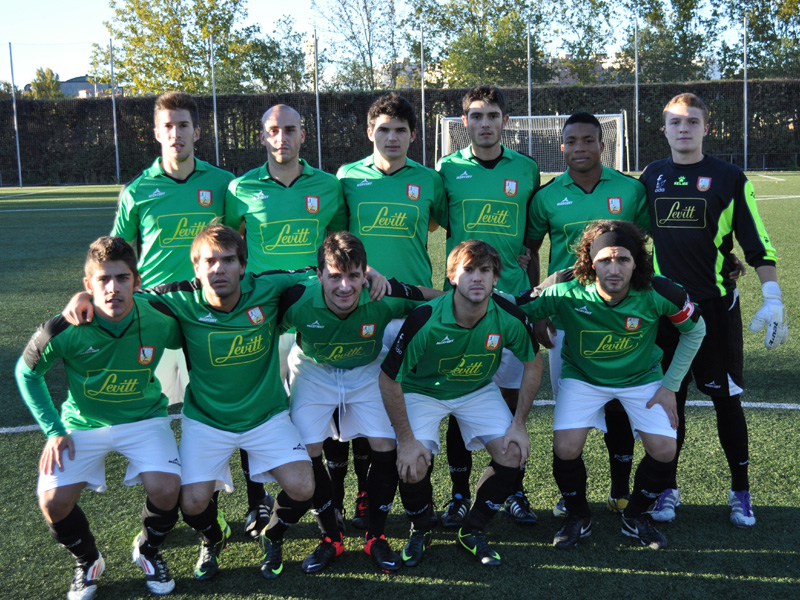 One of ours, Pierre, in Alcobendas CF team