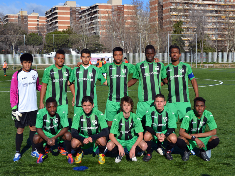 Meritorio empate: C.D. Cobeña 1 - 1 InterSoccer Academy Club