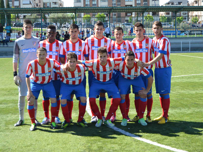 El Club InterSoccer Madrid se tutea con el Club Atletico de Madrid