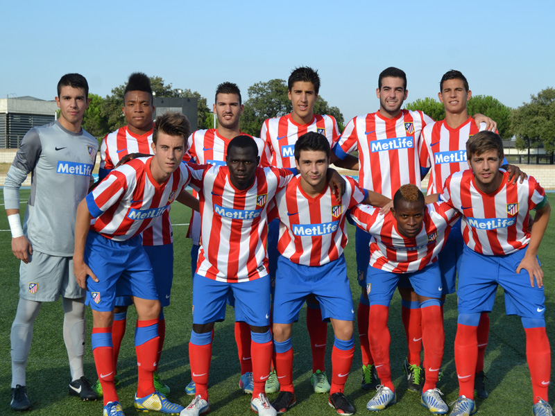 "Pierre debuts with Atletico Madrid Youth Honor Division, which will play the Youth European Champions ""Johansson Cup"""