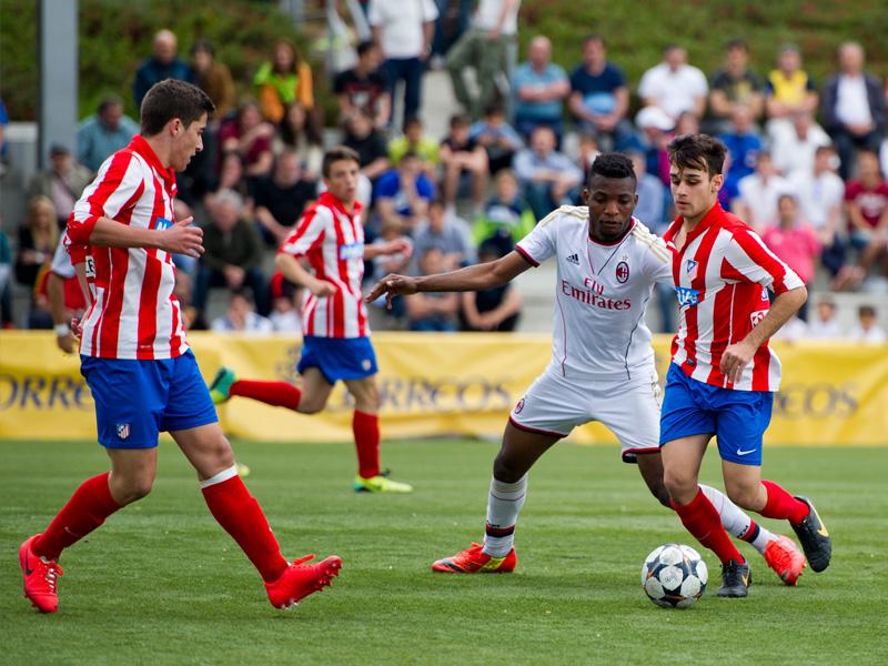 Atletico Madrid are champions of the U16 Luis Aragones Memorial Tournament