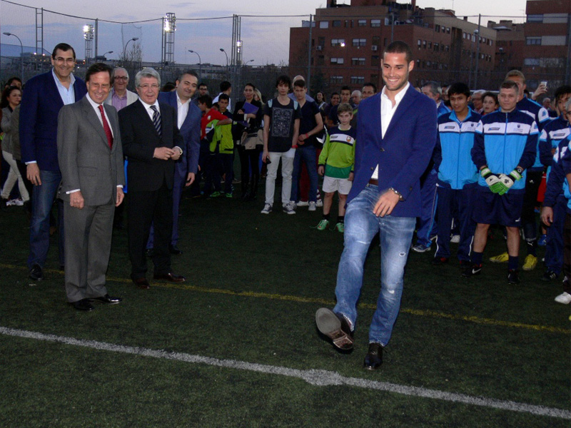 InterSoccer attended the -Tribute Ceremony to Mario Suarez- in Alcobendas