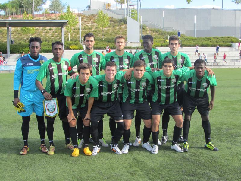 Debut y goleada del A.C. InterSoccer Madrid en la Primera División de Aficionados de Madrid