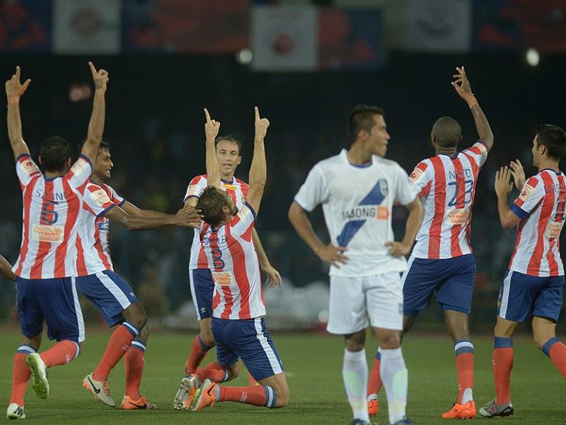 Victoria en el debut del Atlético de Kolkata