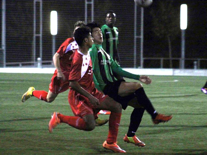 Contra la Selección Sub18 de la Federación de Fútbol de Madrid, gran partido de los chicos de InterSoccer Academia