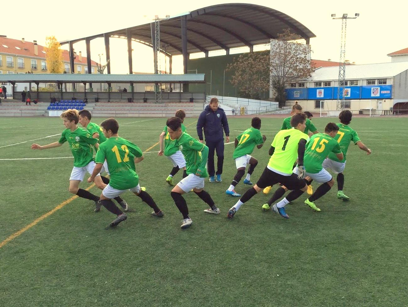 Quinto partido de la 'Liga Open de Talentos Intersoccer'. Rival: Atlético Casarrubuelos