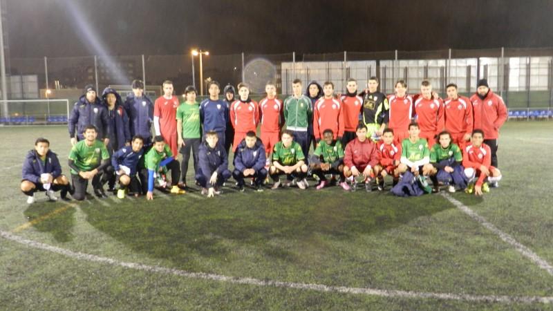 'La máquina de jugar al fútbol'.  X Jornada de la 'Liga Open de Talentos Intersoccer'