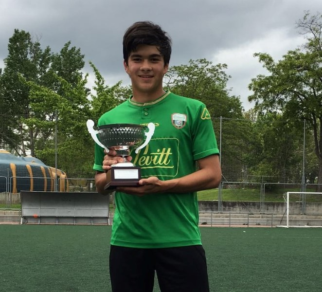 Campeones de la liga de fútbol 7 del PMD de Alcobendas