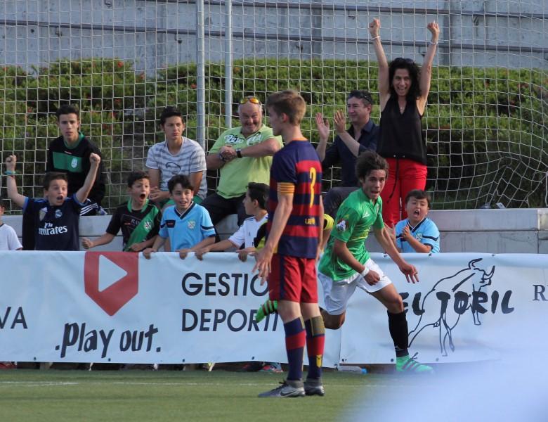III MEMORIAL LUIS ARAGONÉS. FC BARCELONA - ALCOBENDAS LEVITT CF, 2-2
