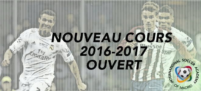 NOUVEAU COURS 2016-2017 OUVERT