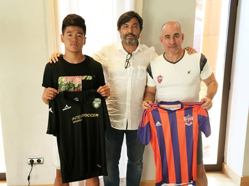 KANG, CON EL FC OF PUNE CITY, DE LA SUPERLIGA INDIA, EN SU STAGE DE UN MES POR ESPAÑA.-