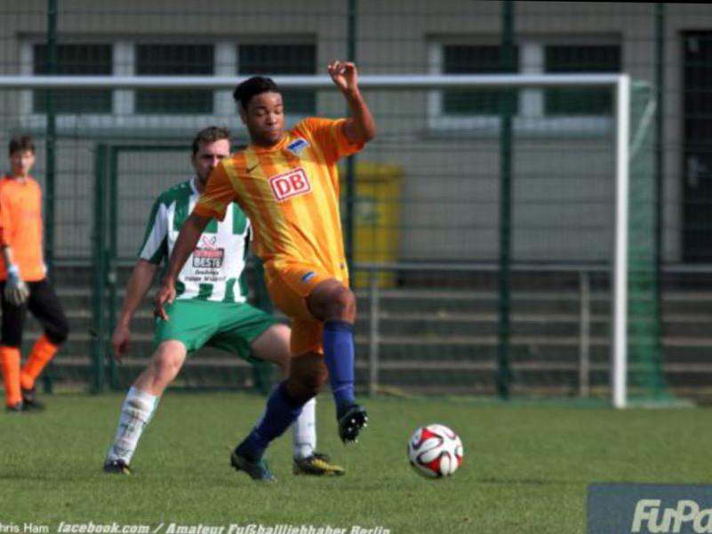 HENRY GÓMEZ SAAH, antiguo alumno hispano camerunés de Intersoccer destaca en el club HERTHA BSC de Berlín.-