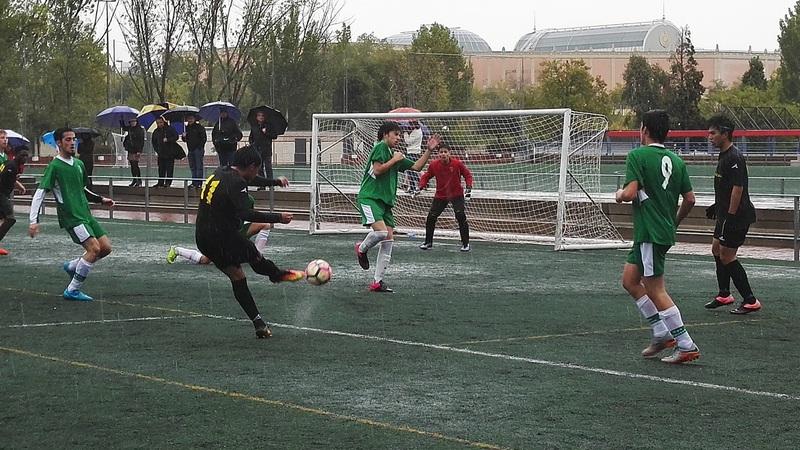Fútbol 7 - J1 Estreno en la liga de fútbol 7 con lección