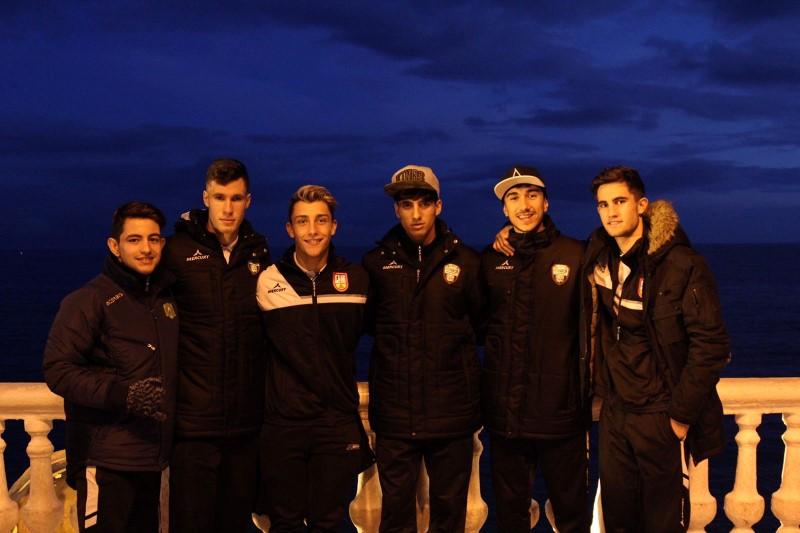 Tour por Alicante de una academia que brilla deportivamente a su paso