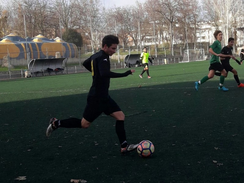 Fútbol 7 - J4 Nueva victoria de la academia frente al Racing Sanchinarro
