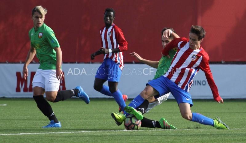 Frente al Atlético de Madrid de Liga Nacional destacan Oscar Pan Y Kevin Castro, alumnos de Intersoccer