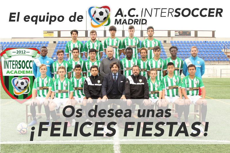 A.C. Intersoccer Madrid want to wish you a Happy Holidays!