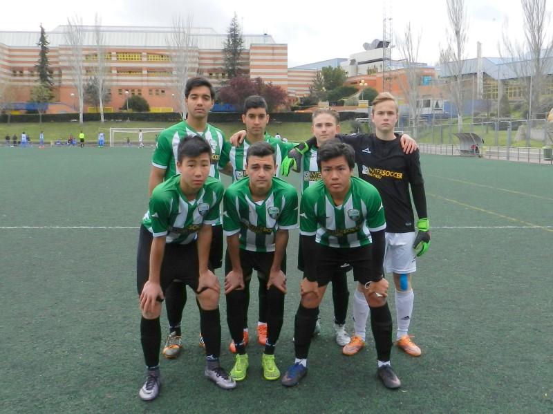Fútbol 7 - J13 Apabullante victoria contra el SSC Academy