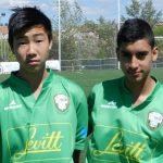 Brayan y Austin, alumnos de Intersoccer, seleccionados para jugar el Torneo de Fútbol Cadete Vicente de Bosque de Alalpardo