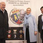 Cristina Cifuentes y Vicente del Bosque inauguran el II Torneo Cadete en Alalpardo