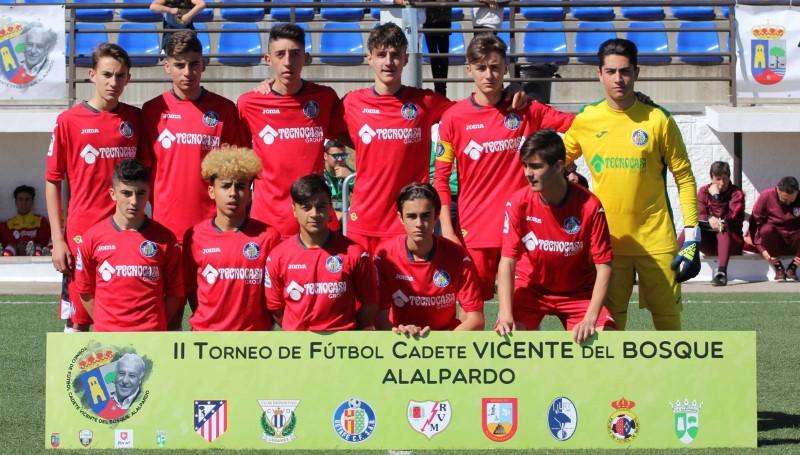 Jornada 2 del II Torneo de Fútbol Cadete VICENTE DEL BOSQUE, Alalpardo