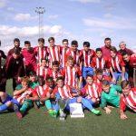 Victoria del Atlético de Madrid en el II Torneo de Fútbol Cadete Vicente del Bosque