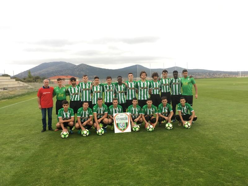 La A.C. INTERSOCCER MADRID forma un equipo Sub/20 que ilusiona por su juventud y calidad.-
