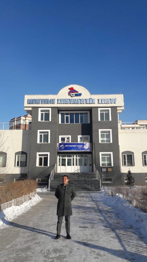 ¡La A.C. Intersoccer llega a Mongolia!