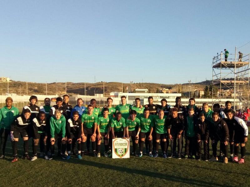 CONTRA EL GRANADA CF, LA AC INTERSOCCER, DISPUTÓ EL VI Y VII PARTIDO DE LA 'LIGA OPEN 2017/2018'.-