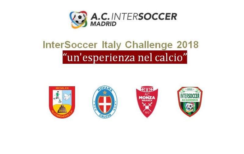 Intersoccer Italy Challenge 2018 - Programa