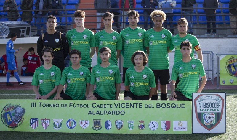 Cuartos de final del III Torneo de Fútbol Cadete Vicente del Bosque – Emocionantísimo partido contra el Getafe CF