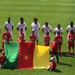 PIERRE KUNDE DEBUT AS HEADER WITH THE ABSOLUTE SELECTION OF CAMEROON.-