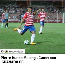 Pierre Kunde Malong- Cameroon- Granada CF