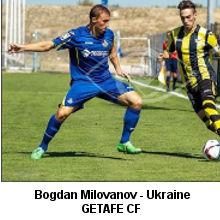Bogdan Milovanov- Ukraine- Getafe CF