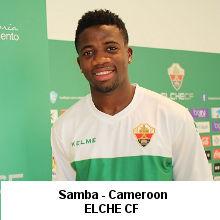 Samba- Cameroon- Elche CF