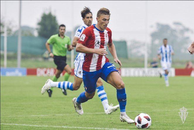 Bogdan Milovanov- Ukraine- Real Sporting de Gijón