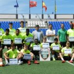 The course 2017-2018 in InterSoccer has finished