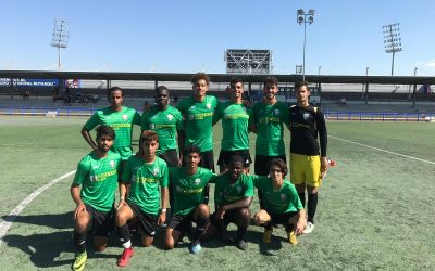 Excellent start of the course for the boys of the Interssocer football academy, with a resounding win against CD Leganés