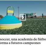 Report of the Intersoccer academy on the TV program Ruta 179 of Telemadrid