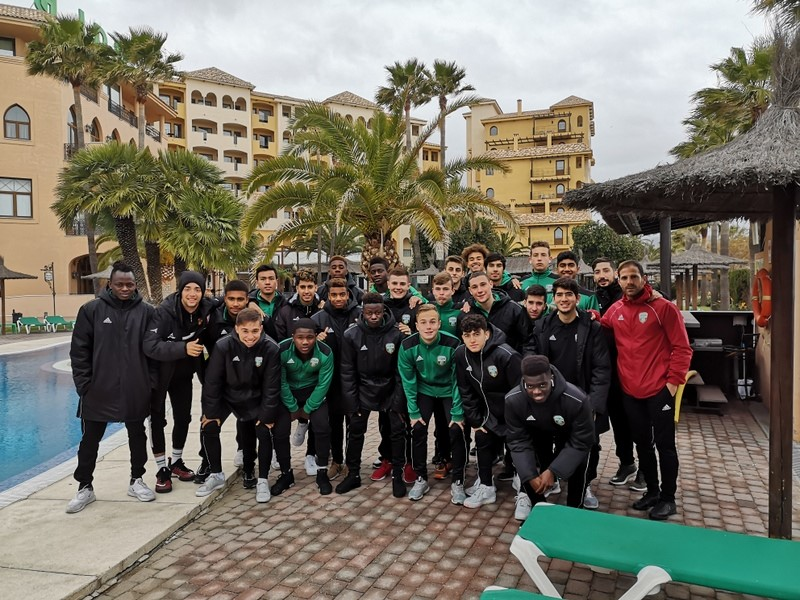 TRIP TO MALAGA OF THE A.C. INTERSOCCER AND MATCH WITH VICTORY (2/3) IN FRONT OF THE TEAM FEBRUARY 26, DIVISION OF HONOR.-
