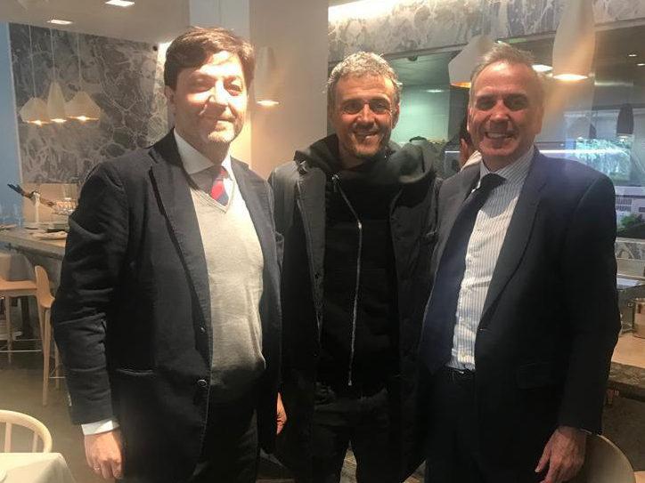 Intersoccer con Luis Enrique, seleccionador nacional español de fútbol