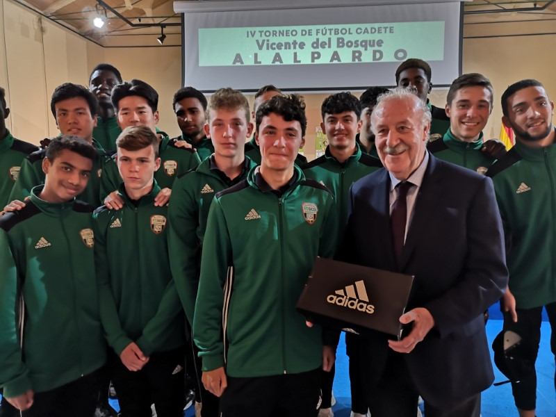 Presentation IV Vicente Del Bosque U15 Football Tournament, Villa de Alalpardo