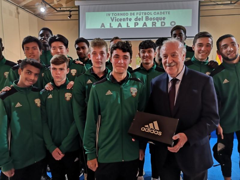 Presentación IV Torneo de Fútbol Cadete Vicente Del Bosque, Villa de Alalpardo